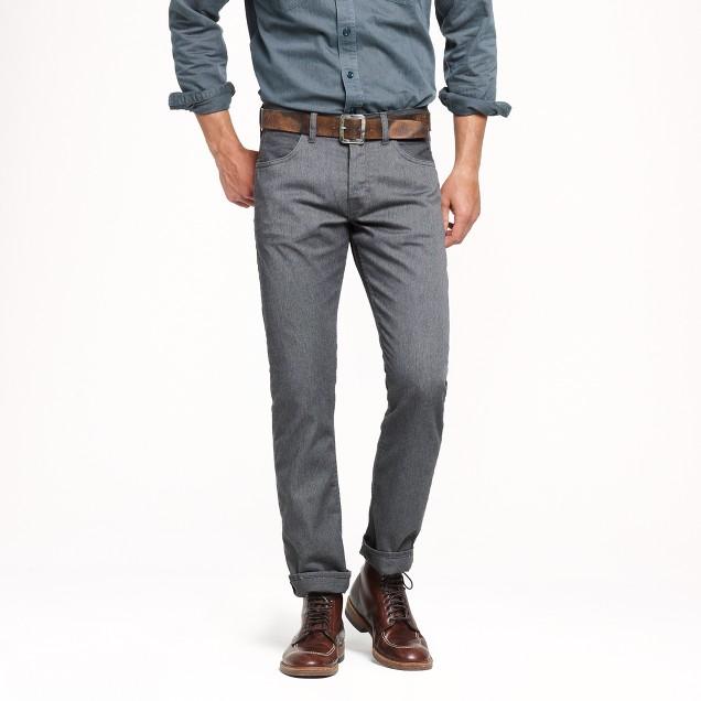 Wallace & Barnes slim workman's utility jean