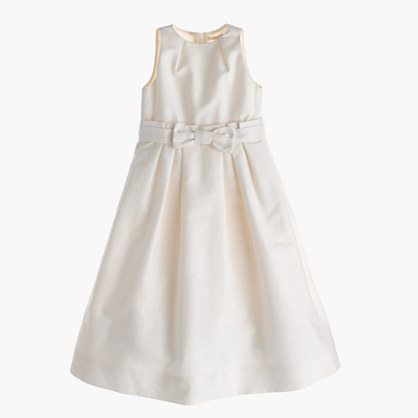 Girls' Beatrice dress in cotton cady