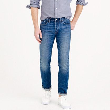 484 Japanese selvedge jean in worn indigo wash
