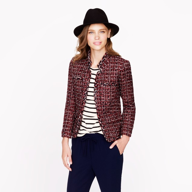 Tall maple tweed jacket