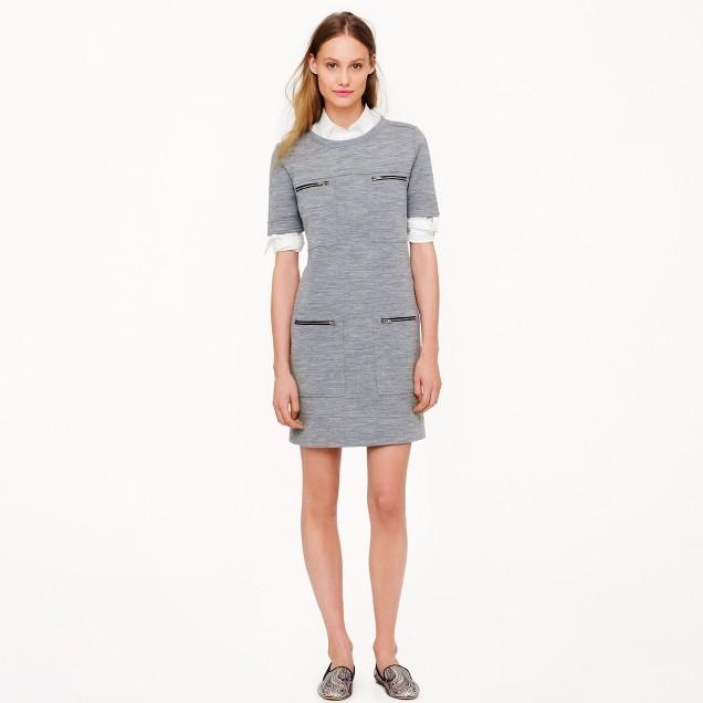 Zip-pocket dress