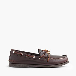 Men's Sperry® for J.Crew 1-eye canoe shoes
