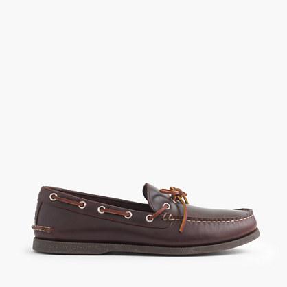 Men's Sperry® for J.Crew 1-eye canoe shoes