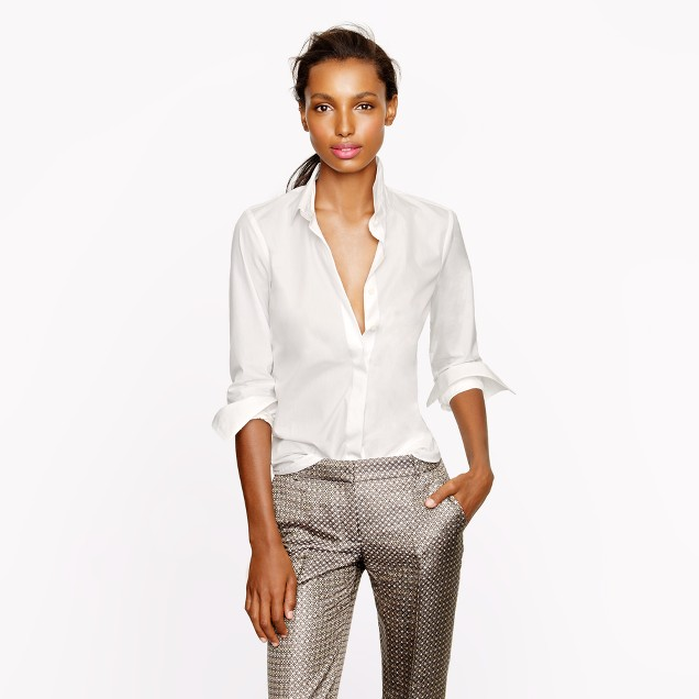 Collection Thomas Mason® for J.Crew covered-placket shirt