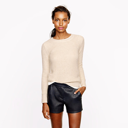 Collection silk-mohair sweater