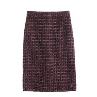 No. 2 pencil skirt in maple tweed