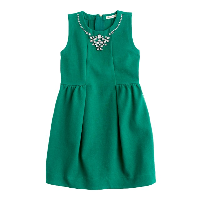 Girls' necklace dress