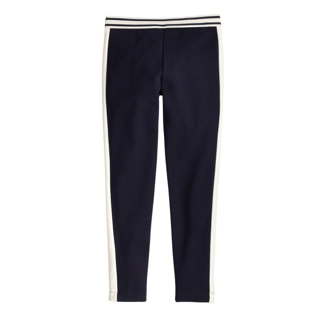 Girls' Pixie pant in contrast stripe