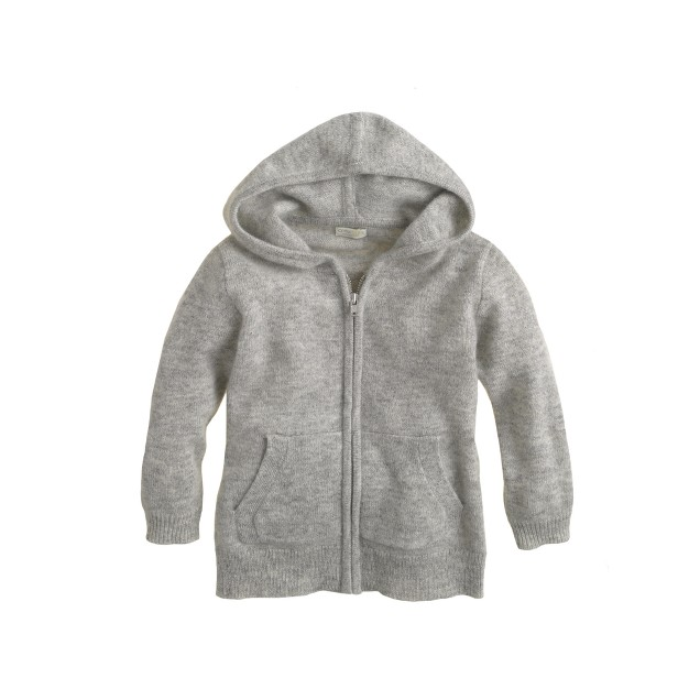 Baby cashmere hoodie