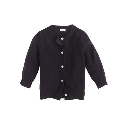 Baby cashmere cardigan sweater