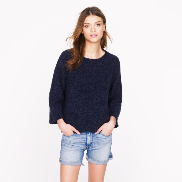 The Elder Statesman® for J.Crew cashmere bell sweater