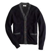 Wallace & Barnes wool contrast cardigan