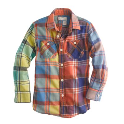Toughskins Infant & Toddler Boys' Flannel Shirt & Twill Pants - Plaid. Sold by Sears. $ $ WonderKids Infant & Toddler Boys' Flannel Shirt - Plaid (4) Sold by Kmart. $ Carter's Carters Infant Girls Baby Outfit Blue Plaid Flannel Shirt & Denim Leggings. Sold by The Primrose Lane.