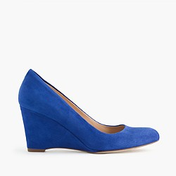 Martina suede wedges
