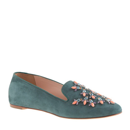 Collection Darby jeweled loafers