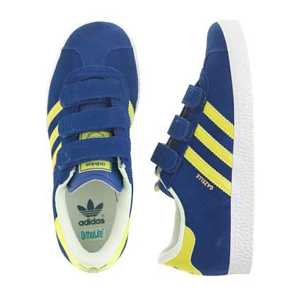 Kids' Adidas® gazelle sneakers in blue in larger sizes