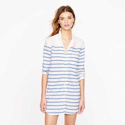 Nightshirt in stripe