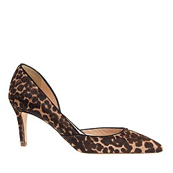 Collection Valentina calf hair d'Orsay pumps