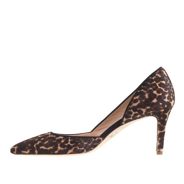 Collection Valentina calf hair d'Orsay pumps