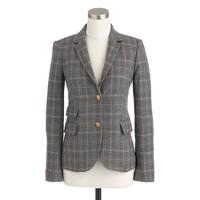 Petite schoolboy blazer in English tweed
