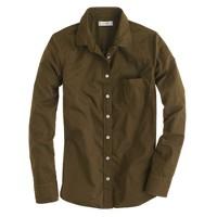 Boy shirt in garment dye