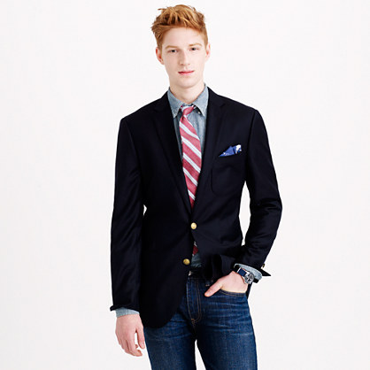 Ludlow club blazer in Italian wool
