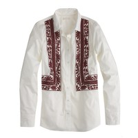 Embroidered boy shirt