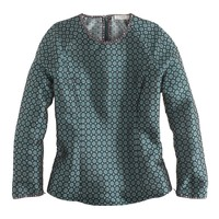 Collection jade foulard top