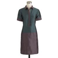 Collection dual foulard shirtdress