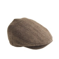 Driver cap in Harris Tweed wool