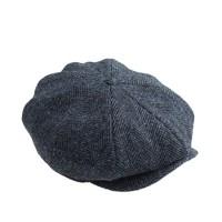 Newsboy cap in Harris Tweed wool