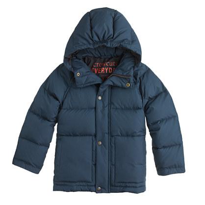 Boys' puffer jacket