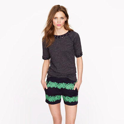 Beanstalk stripe short