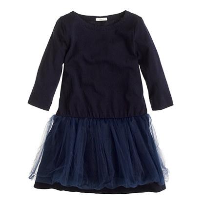 Girls' tippy-toe tulle dress