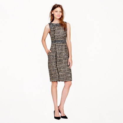 Pepper tweed dress