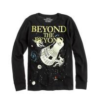 Boys' long-sleeve glow-in-the-dark beyond the beyond tee