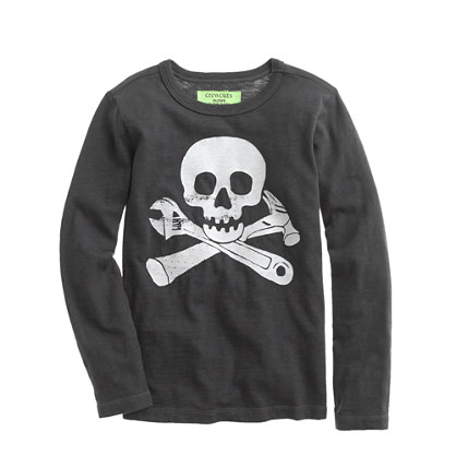 Boys' long-sleeve glow-in-the-dark Mister Fix It tee