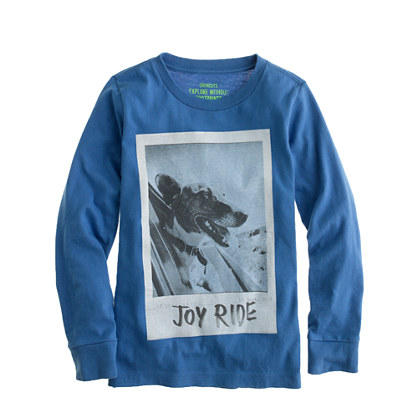 Boys' long-sleeve joy ride tee