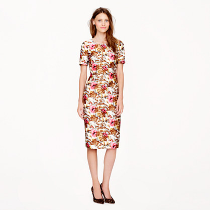Collection antiqued floral dress
