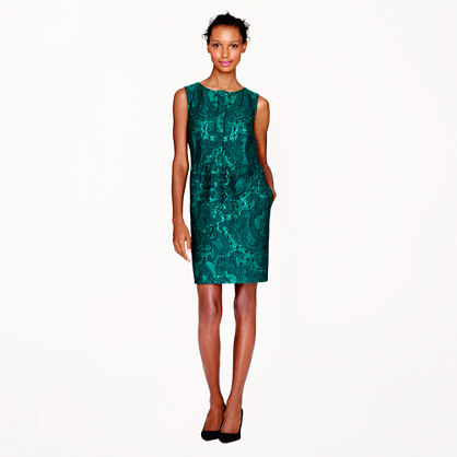 Collection half-placket dress in dauphin floral