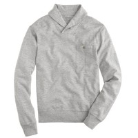 Flyweight shawl-collar sweatshirt