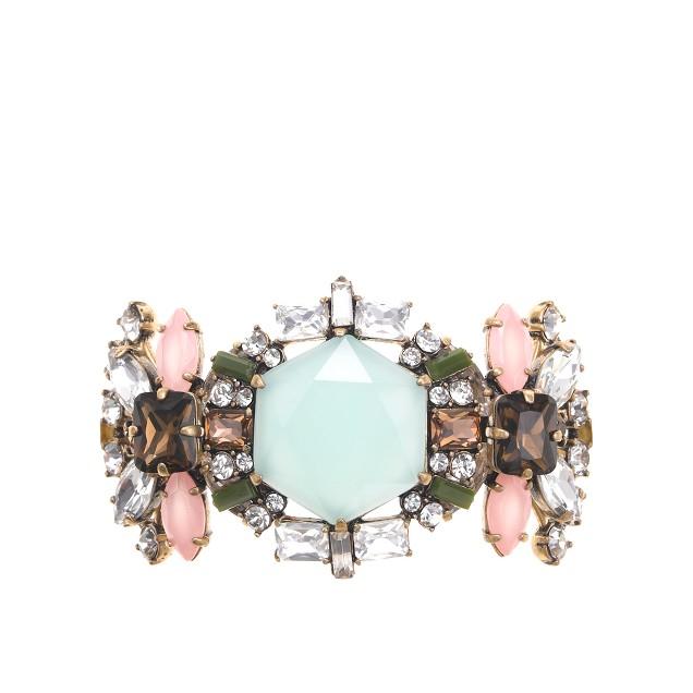 Crystal compilation bracelet