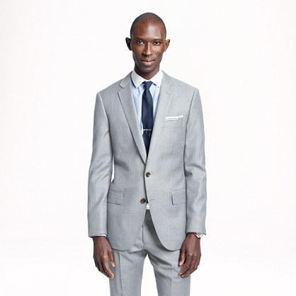 Ludlow suit jacket in pinstripe Italian wool