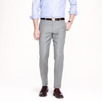 Ludlow slim suit pant in pinstripe Italian wool
