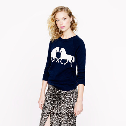 Horsing around sweatshirt