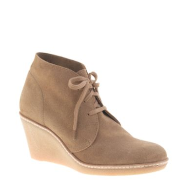 macalister wedge boots j crew