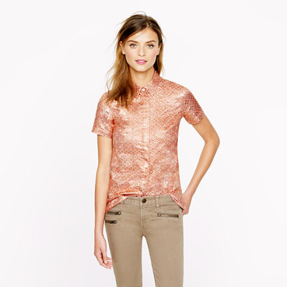 Collection quartz jacquard shirt