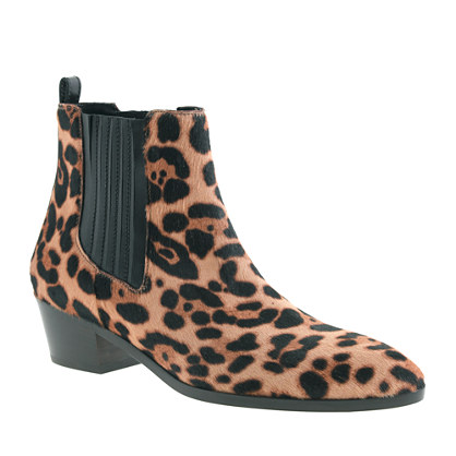 Collection Chelsea calf hair boots