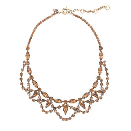 Lace stone necklace