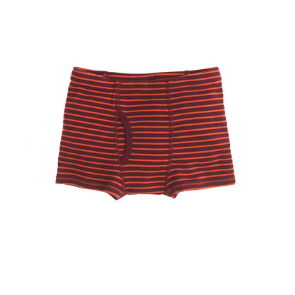 Boys' skinny-stripe boxer briefs